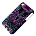 Sly Dog Modern Grunge Style Blue Pink Violet Apple iPhone 3G/3GS Hardshell Case (PC+Silicone) View4
