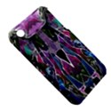 Sly Dog Modern Grunge Style Blue Pink Violet Apple iPhone 3G/3GS Hardshell Case (PC+Silicone) View5