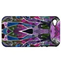 Sly Dog Modern Grunge Style Blue Pink Violet Apple iPhone 4/4S Hardshell Case (PC+Silicone) View1