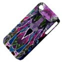 Sly Dog Modern Grunge Style Blue Pink Violet Apple iPhone 4/4S Hardshell Case (PC+Silicone) View4