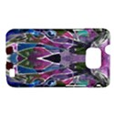 Sly Dog Modern Grunge Style Blue Pink Violet Samsung Galaxy S II i9100 Hardshell Case (PC+Silicone) View1
