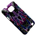 Sly Dog Modern Grunge Style Blue Pink Violet Samsung Galaxy S II i9100 Hardshell Case (PC+Silicone) View5