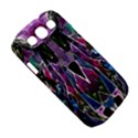 Sly Dog Modern Grunge Style Blue Pink Violet Samsung Galaxy S III Classic Hardshell Case (PC+Silicone) View5