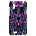 Sly Dog Modern Grunge Style Blue Pink Violet HTC Desire VT (T328T) Hardshell Case View2