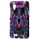 Sly Dog Modern Grunge Style Blue Pink Violet HTC Desire VT (T328T) Hardshell Case View3