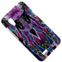 Sly Dog Modern Grunge Style Blue Pink Violet HTC Desire VT (T328T) Hardshell Case View5