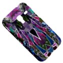 Sly Dog Modern Grunge Style Blue Pink Violet Samsung Galaxy Ace Plus S7500 Hardshell Case View5
