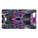 Sly Dog Modern Grunge Style Blue Pink Violet Sony Xperia Miro View1