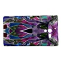 Sly Dog Modern Grunge Style Blue Pink Violet Sony Xperia ZL (L35H) View1