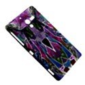 Sly Dog Modern Grunge Style Blue Pink Violet Sony Xperia ZL (L35H) View5
