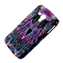 Sly Dog Modern Grunge Style Blue Pink Violet Samsung Galaxy Duos I8262 Hardshell Case  View4