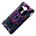 Sly Dog Modern Grunge Style Blue Pink Violet Sony Xperia SP View4