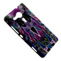 Sly Dog Modern Grunge Style Blue Pink Violet Sony Xperia SP View5