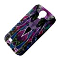Sly Dog Modern Grunge Style Blue Pink Violet Samsung Galaxy S4 Classic Hardshell Case (PC+Silicone) View4