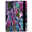 Sly Dog Modern Grunge Style Blue Pink Violet iPad Mini 2 Flip Cases View2