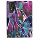 Sly Dog Modern Grunge Style Blue Pink Violet iPad Air Flip View1