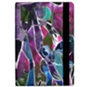 Sly Dog Modern Grunge Style Blue Pink Violet iPad Air Flip View2