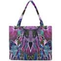 Sly Dog Modern Grunge Style Blue Pink Violet Mini Tote Bag View1