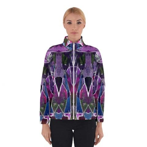 Sly Dog Modern Grunge Style Blue Pink Violet Winterwear