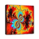 Crazy Mandelbrot Fractal Red Yellow Turquoise Mini Canvas 6  x 6  View1