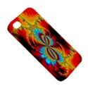 Crazy Mandelbrot Fractal Red Yellow Turquoise Apple iPhone 4/4S Hardshell Case View5
