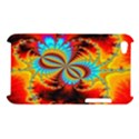 Crazy Mandelbrot Fractal Red Yellow Turquoise Apple iPod Touch 4 View1