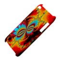 Crazy Mandelbrot Fractal Red Yellow Turquoise Apple iPod Touch 4 View4