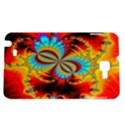 Crazy Mandelbrot Fractal Red Yellow Turquoise Samsung Galaxy Note 1 Hardshell Case View1