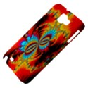 Crazy Mandelbrot Fractal Red Yellow Turquoise Samsung Galaxy Note 1 Hardshell Case View4