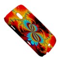 Crazy Mandelbrot Fractal Red Yellow Turquoise Samsung Galaxy Nexus i9250 Hardshell Case  View5