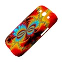 Crazy Mandelbrot Fractal Red Yellow Turquoise Samsung Galaxy S III Hardshell Case  View4