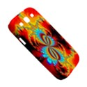 Crazy Mandelbrot Fractal Red Yellow Turquoise Samsung Galaxy S III Hardshell Case  View5