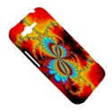 Crazy Mandelbrot Fractal Red Yellow Turquoise HTC Rhyme View5