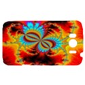 Crazy Mandelbrot Fractal Red Yellow Turquoise HTC Sensation XL Hardshell Case View1