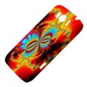 Crazy Mandelbrot Fractal Red Yellow Turquoise HTC Sensation XL Hardshell Case View4