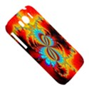 Crazy Mandelbrot Fractal Red Yellow Turquoise HTC Sensation XL Hardshell Case View5