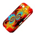 Crazy Mandelbrot Fractal Red Yellow Turquoise HTC Desire S Hardshell Case View4