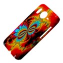 Crazy Mandelbrot Fractal Red Yellow Turquoise HTC Desire HD Hardshell Case  View4
