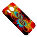 Crazy Mandelbrot Fractal Red Yellow Turquoise HTC Desire HD Hardshell Case  View5