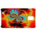 Crazy Mandelbrot Fractal Red Yellow Turquoise Samsung Infuse 4G Hardshell Case  View1