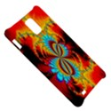 Crazy Mandelbrot Fractal Red Yellow Turquoise Samsung Infuse 4G Hardshell Case  View5