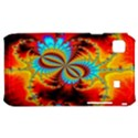 Crazy Mandelbrot Fractal Red Yellow Turquoise Samsung Galaxy S i9000 Hardshell Case  View1