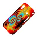 Crazy Mandelbrot Fractal Red Yellow Turquoise Samsung Galaxy Ace S5830 Hardshell Case  View4