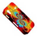 Crazy Mandelbrot Fractal Red Yellow Turquoise Samsung Galaxy Ace S5830 Hardshell Case  View5
