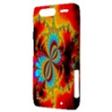 Crazy Mandelbrot Fractal Red Yellow Turquoise Motorola Droid Razr XT912 View3
