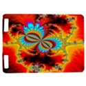 Crazy Mandelbrot Fractal Red Yellow Turquoise Kindle Touch 3G View1