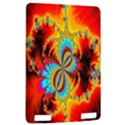 Crazy Mandelbrot Fractal Red Yellow Turquoise Kindle Touch 3G View2
