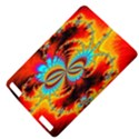 Crazy Mandelbrot Fractal Red Yellow Turquoise Kindle Touch 3G View4
