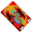 Crazy Mandelbrot Fractal Red Yellow Turquoise Kindle Touch 3G View5