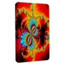 Crazy Mandelbrot Fractal Red Yellow Turquoise Kindle Fire (1st Gen) Hardshell Case View2